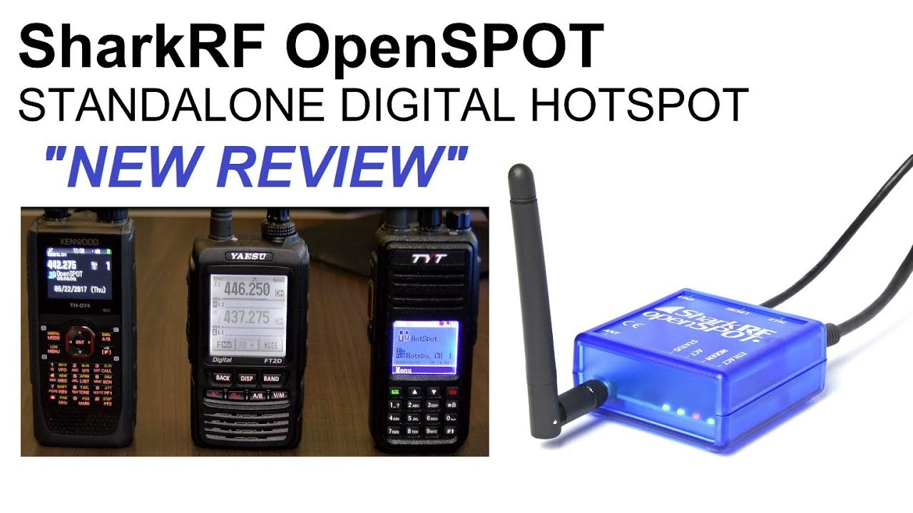 The SharkRF OpenSPOT new review