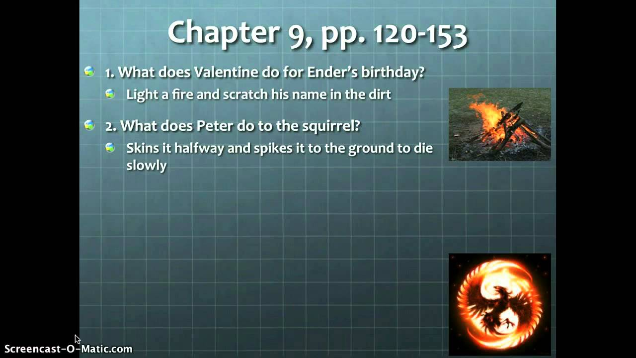 Ender's Game Chapter 7 Summary