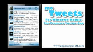 moTweets - The Premiere Twitter App for Windows Mobile
