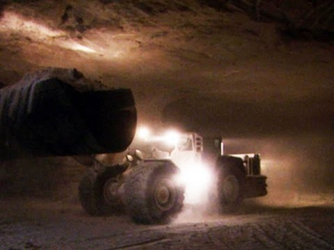 Bad Winter Weather Brings More Money To Salt Mines YouTube - Lake erie salt mines