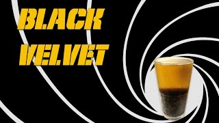 Black Velvet - How to Make the Beer & Champagne Cocktail like James Bond(Learn how to make a Black Velvet worthy of being called a James Bond cocktail by using Guinness Stout Beer and Freixenet Cava (Sparking Wine). The series ..., 2015-09-03T14:00:00.000Z)