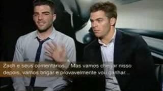 The Best of Chris Pine and Zachary Quinto Part 7