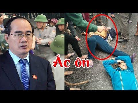 Đệ tử của Nguyễn Thiện Nhân bị tố đánh người biểu tình chấn thương sọ não