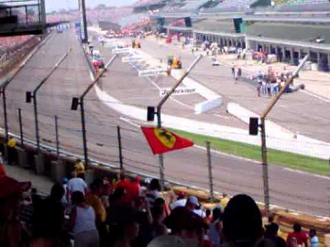 2006 Formula One US Grand Prix - German Anthem