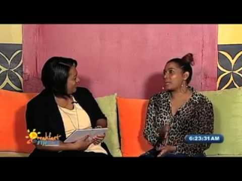 Anita Interview Breakfast Show Fiji Television