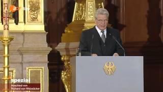 Trauerfeier und Staatsakt für Richard von Weizsäcker (11.02.2015)