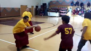 Mystical Arts of Tibet vs. Taos Pueblo Day School Basketball Game