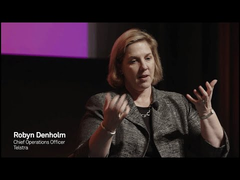 How teams with diverse experiences power innovation - Robyn Denholm, COO, Telstra