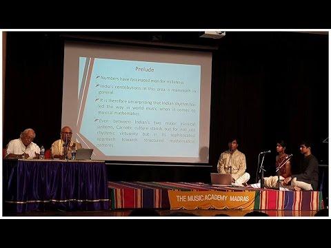 Seamless Korvais by Chitravina N Ravikiran Part 1 at The  Music Academy