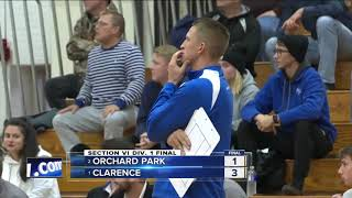 Clarence and Grand Island win Section VI boys volleyball titles to advance to Regionals