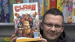 Clash of Vikings (Queen Games) - ab 8 Jahre - Haudrauf Funspiel