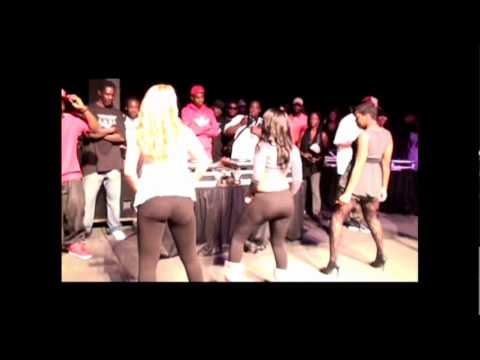 T-Pain Dj Lil Boy Clap them Thighs Contest at FAMU Homecoming Concert