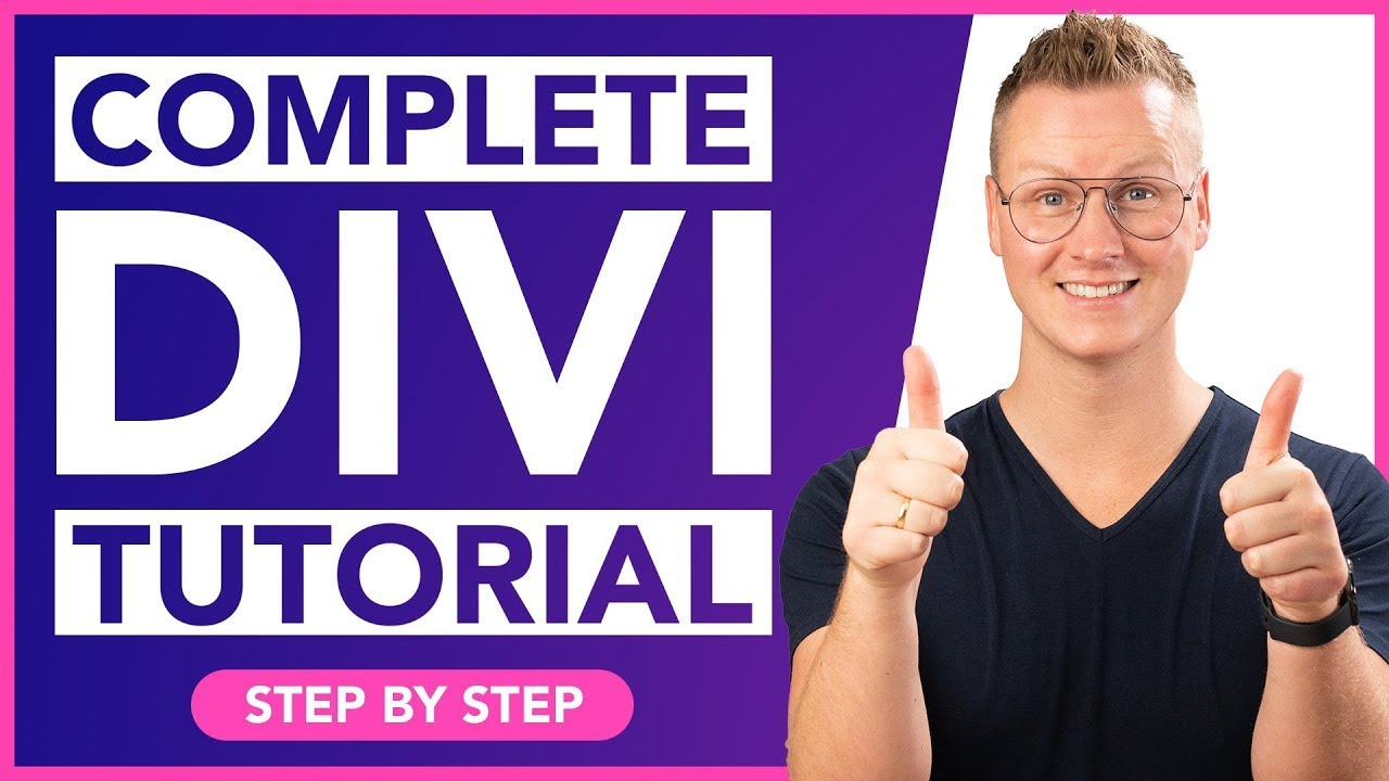 How To Make A WordPress Website  Divi Theme Tutorial
