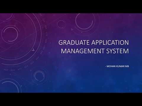 Gigster Presentation - Graduate Application Management System