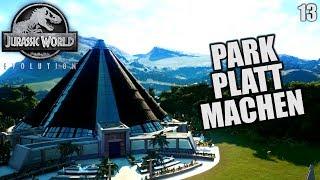Jurassic World Evolution Deutsch #13 ► Alles platt machen ◄ | Let's Play Gameplay German