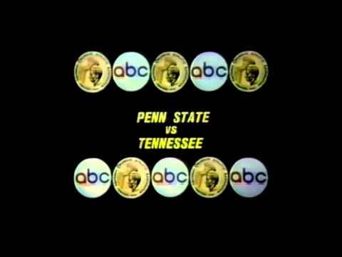 WABCTV CHANNEL 7 STATION IDABC SPORTS COLLEGE FOOTBALL