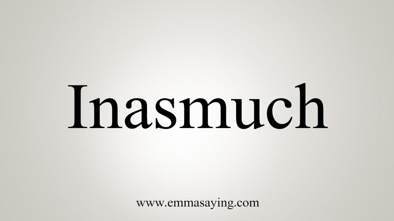inasmuch as synonym