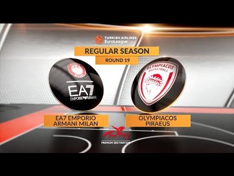Highlights: EA7 Emporio Armani Milan - Olympiacos Piraeus ...