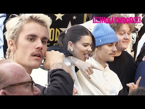 Justin Bieber, Scooter Braun, Shawn Mendes & More Attend Lucian Grainge's Walk Of Fame Ceremony