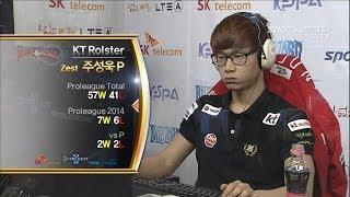 [프로리그2014] 조성호(IM) vs 주성욱(KT) 2세트 폴라나이트 -EsportsTV, 프로리그2014
