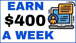 Earn $400 Weekly Income Chatting With Strangers