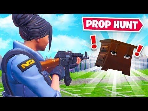 *NEW* PROP HUNT in Fortnite! (Unreleased Mode)