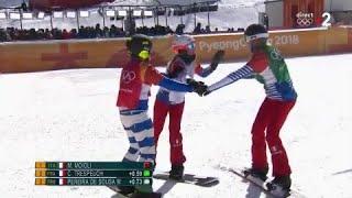 JO 2018 : Snowboard cross femmes : Direction la finale pour Trespeuch et Pereira de Sousa !