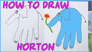 How to Draw Horton Hears a Who