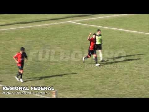 REGIONAL FEDERAL: Atlético Concepción superó a Amalia y da pelea por la clasificación