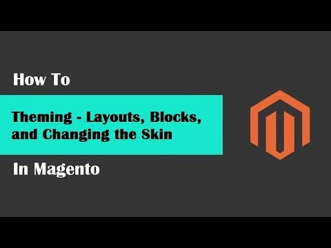 Magento Tech geeks Tutorials #71 Theming - Layouts, Blocks, and Changing the Skin thumbnail