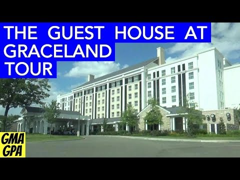 The Guest House At Graceland - Elvis Presley Themed Hotel Walk Through Tour In Memphis - Suites Pool