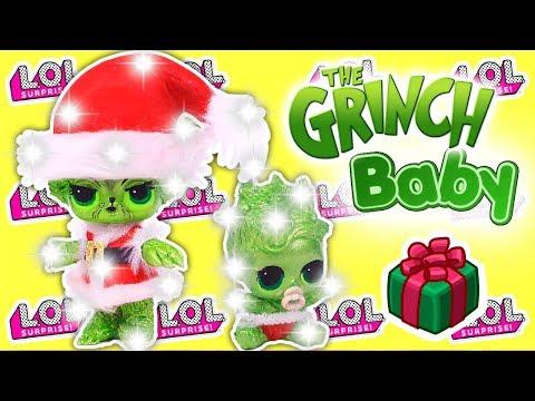 El Grinch Transformacion De Munecas Lol Sorpresa Manualidades Para