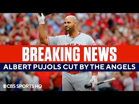 BREAKING: Albert Pujols released from the Angels  CBS Sports HQ
