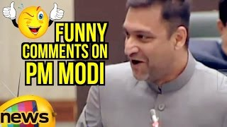 Akbaruddin Owaisi Funny Comments On PM Modi Over Election Campaign Payment | TS | Mango News