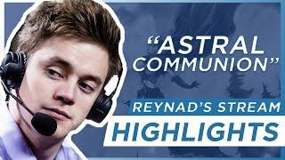 Hearthstone l Funny Reynad Stream Highlight: Astral Communion