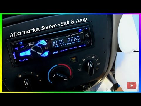 2001-2003 Ford Taurus [AFTERMARKET STEREO INSTALL] Sub+Amp