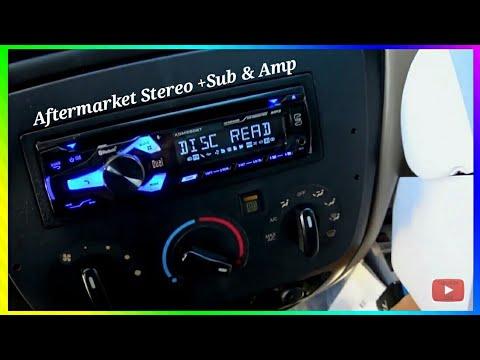 2001 ford taurus aftermarket radio
