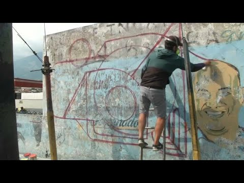 France 24:Watch: The Caracas artists reclaiming slum spaces from poverty and propaganda