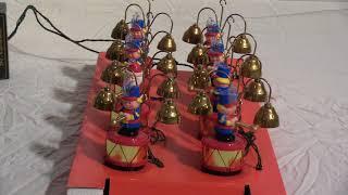 Mr Christmas Santas Marching Band Demo Video