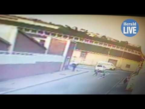 18 pupils injured in school-run collision