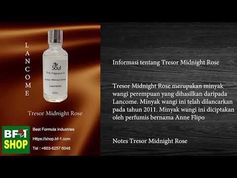 Pati Minyak Wangi Lancome Tresor Midnight Rose