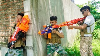 Nerf War: Five Martial Artist Nerf Battle Seven Samurai Final NERF MOVIES