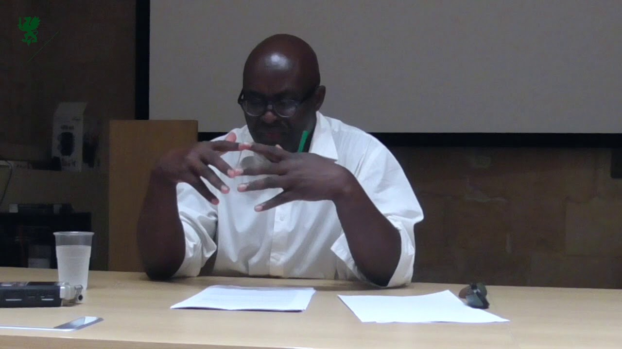 5012e820f7d8 Achille Mbembe. Rethinking Democracy Beyond the Human. 2017. European  Graduate School Video Lectures