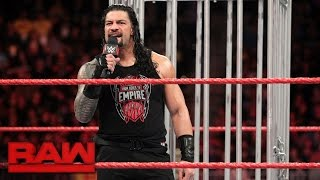 Roman Reigns gets his U.S. Title rematch: Raw, Jan. 23, 2017