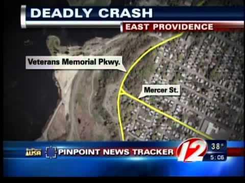 east providence crash veterans memorial parkway