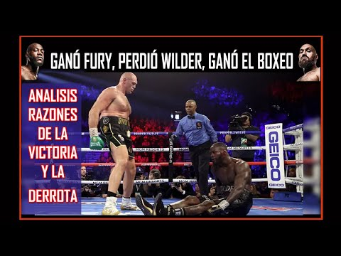 ¡Campeonísimo De Principio A Fin!: Fury Dominó A Lo Fury Y Noqueó A Lo Wilder