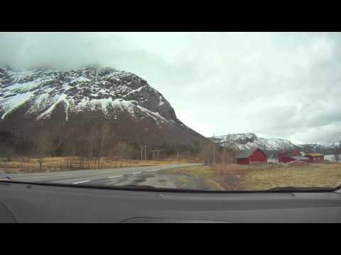 Kystriksveien timelapse (Meløy-Saltstraumen)