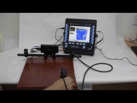 ISONIC 3505, 3507: XYβ Raster Scanning - SRUT - Airborne Ultrasound Encoder