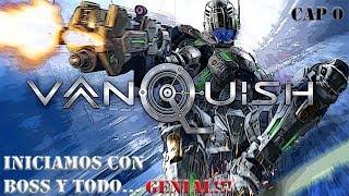 VANQUISH | DIFICIL | Iniciamos y con BOSS incluido GENIAL!! | PC | Gameplay Español Latino