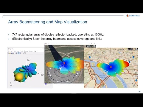 Map-based visualization of RF propagation for wireless